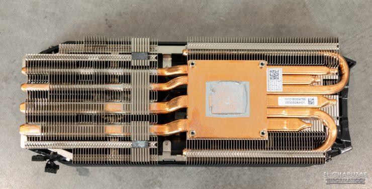 EVGA GeForce RTX 2070 SUPER KO - Disipador desmontado