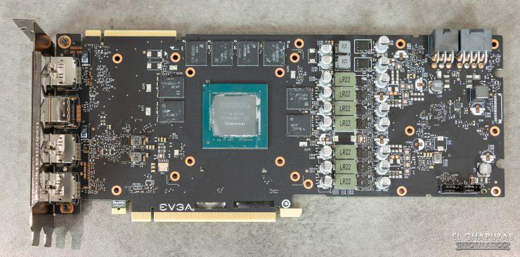 EVGA GeForce RTX 2070 SUPER KO - Vista PCB frontal