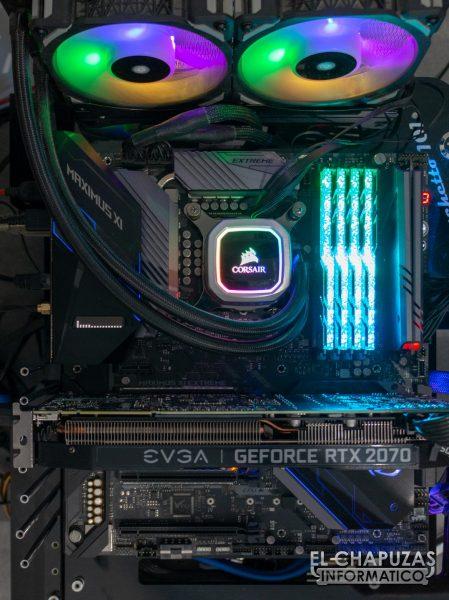 EVGA GeForce RTX 2070 SUPER KO - Equipo de pruebas 1