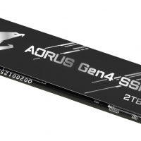 El SSD Gigabyte Aorus NVMe (PCIe 4.0) sale a la venta a un precio de partida de 109 euros