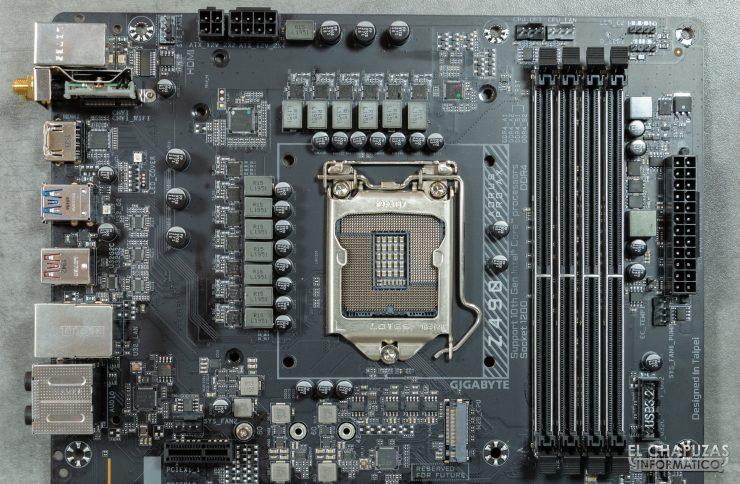 Gigabyte Z490 Aorus Pro AX - VRM
