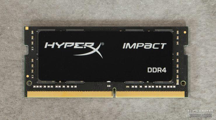 HyperX Impact frontal