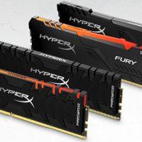 HyperX lanza sus nuevos kits de memora Predator DDR4 RGB y FURY DDR4 RGB