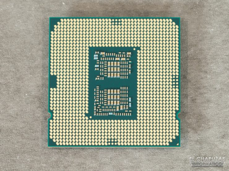 Intel Core i7-10700K - Vista inferior