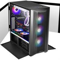 Lancool II Mesh Performance & RGB: Los chasis con frontal 'Metal Mesh' están de moda