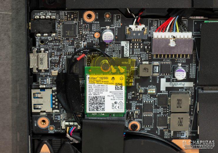 MSI GE66 Raider (10SGS) - WiFi