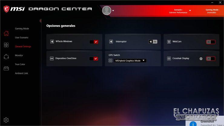 MSI GE66 Raider (10SGS) - Software 3