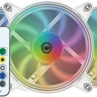 Nfortec Velorum: Ventiladores ARGB de 120 mm para iluminar todo lo que te rodea