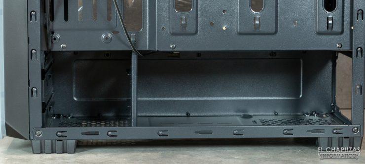 Nox Hummer MC Pro - Interior trasera inferior