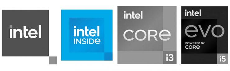 Nuevos logo Intel