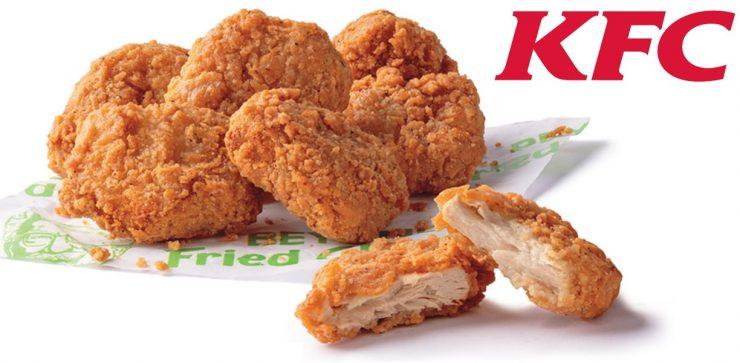 Nuggets de pollo de KFC