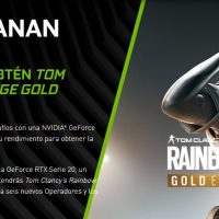 Nvidia regala el Rainbow Six Siege Gold Edition con la compra de una GeForce RTX