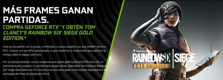 Nvidia y Rainbow Six Siege 740x266 0