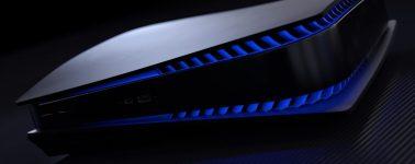Así luciría una PlayStation 5 Black Edition frente a la Xbox Series X