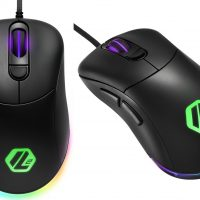 Sharkoon Light² 100: Sencillo ratón gaming con iluminación RGB por 24,99 euros