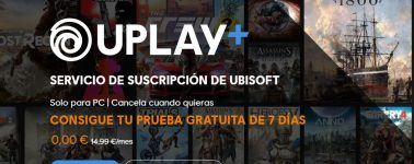 Juega gratis a más de 100 juegos en Uplay+ durante 1 semana