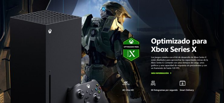 Xbox Series X y Halo Infinite 740x342 0
