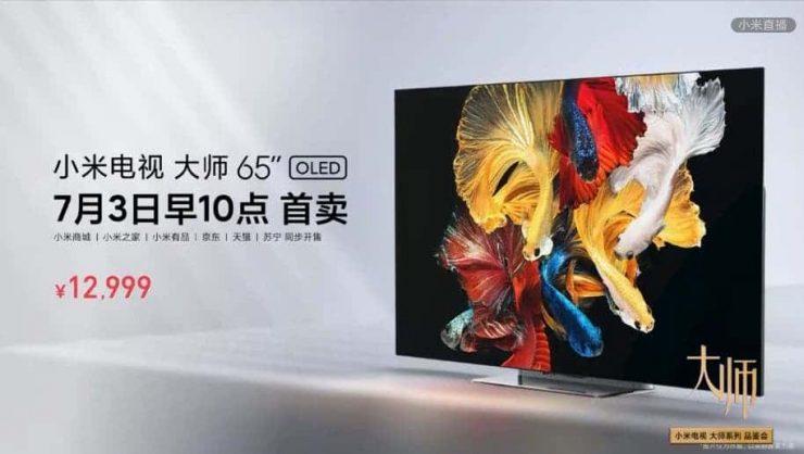 """Mi TV Master 65"""" OLED"""