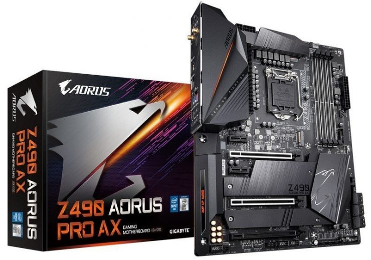 Z490 Aorus Pro AX