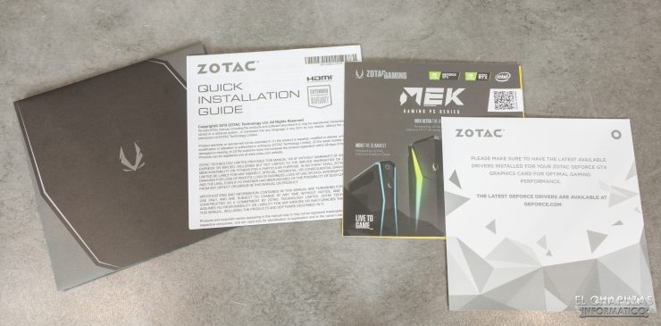 Zotac GeForce RTX 2060 - Documentación