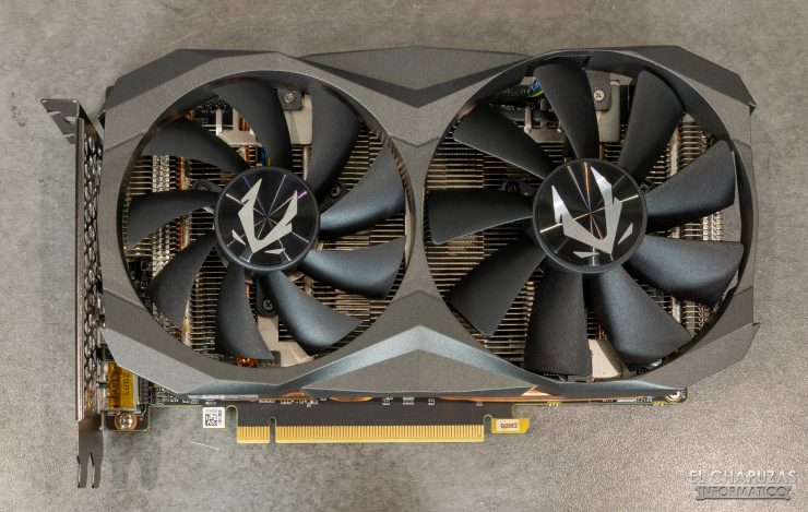 Zotac GeForce RTX 2060 - Vista superior