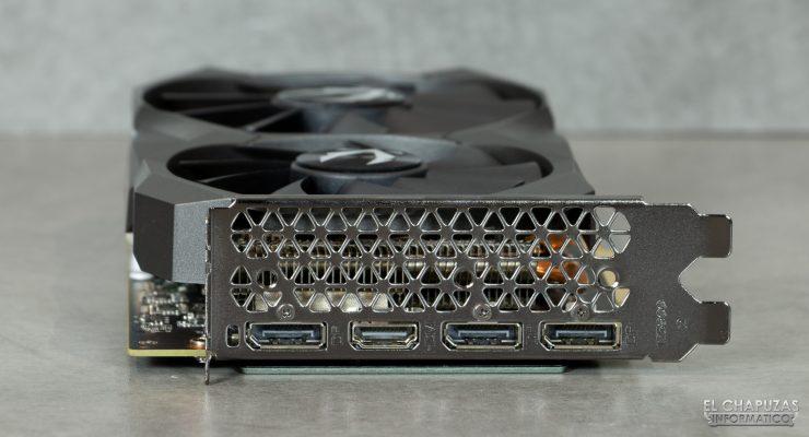 Zotac GeForce RTX 2060 - Conectores