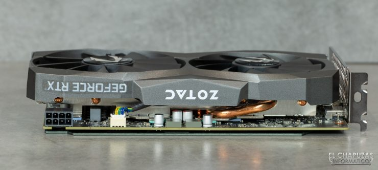 Zotac GeForce RTX 2060 - Vista lateral 2