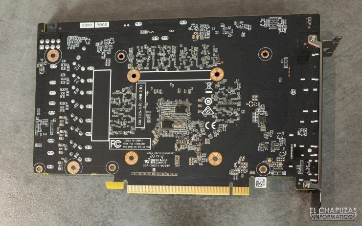 Zotac GeForce RTX 2060 - PCB trasero