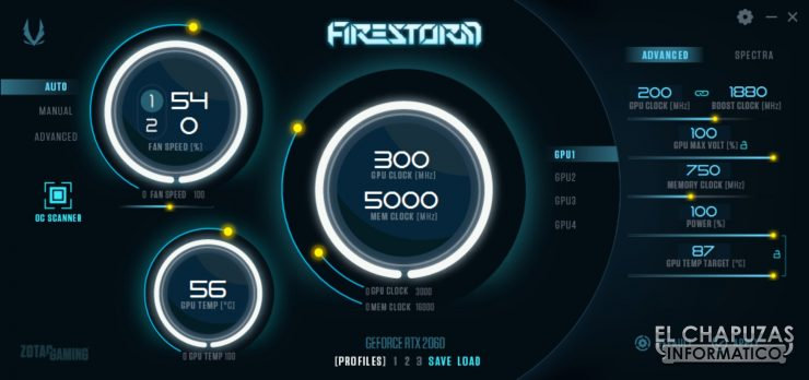 Zotac GeForce RTX 2060 - FireStorm
