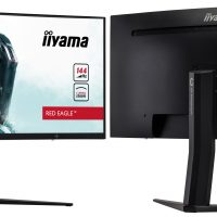 iiyama GB3466WQSU Red Eagle: Panel VA curvo de 34″ UWQHD @ 144 Hz