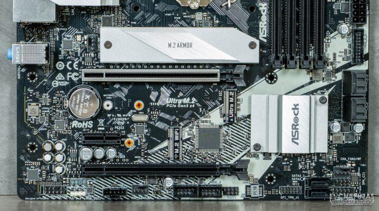 ASRock B460M Pro4 - Slots PCIe