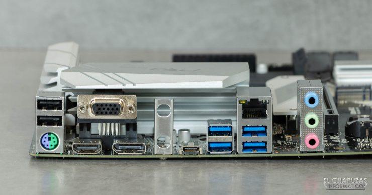 ASRock B460M Pro4 - Conectores traseros