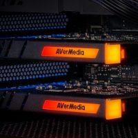 AVerMedia Live Gamer DUO: Capturadora interna 4K @ 60 FPS o Full HD @ 240 FPS con iluminación RGB