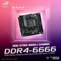 Asus rompe un récord con la APU AMD Ryzen 7 4700GE alcanzando un overclock de memoria @ 6666 MHz