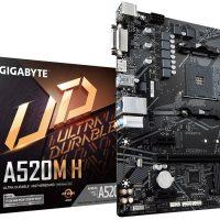 Consiguen realizar overclock en una placa base AMD A520 (Gigabyte A520M H)