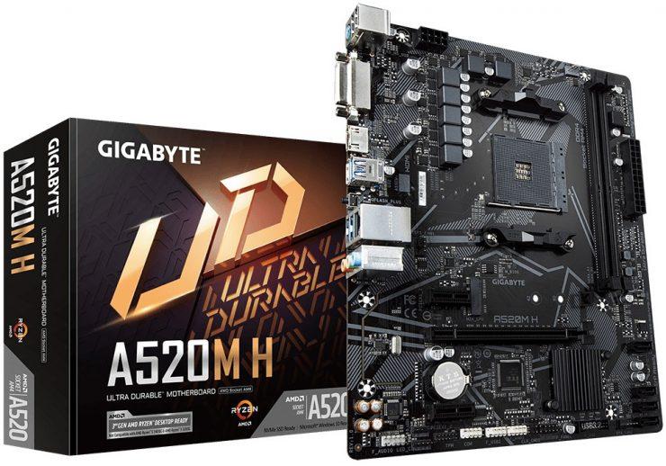 Gigabyte, A520M H
