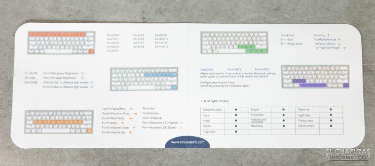 Kemove DK61 Snowfox - Manual de usuario