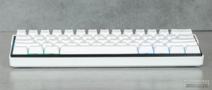 Kemove DK61 Snowfox - Margen frontal