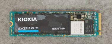 Review: Kioxia Exceria Plus (SSD M.2 NVMe 1.3c)