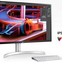 LG 32UN650-W: Monitor IPS de 31.5″ con resolución 4K para uso mixto