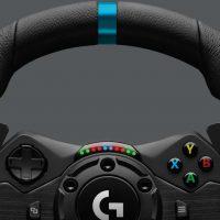 Logitech G anuncia su nuevo volante Logitech G923 TRUEFORCE, que llega por 399 euros