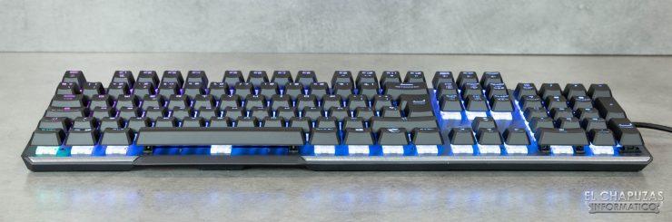 MSI Vigor GK50 Elite - Margen frontal