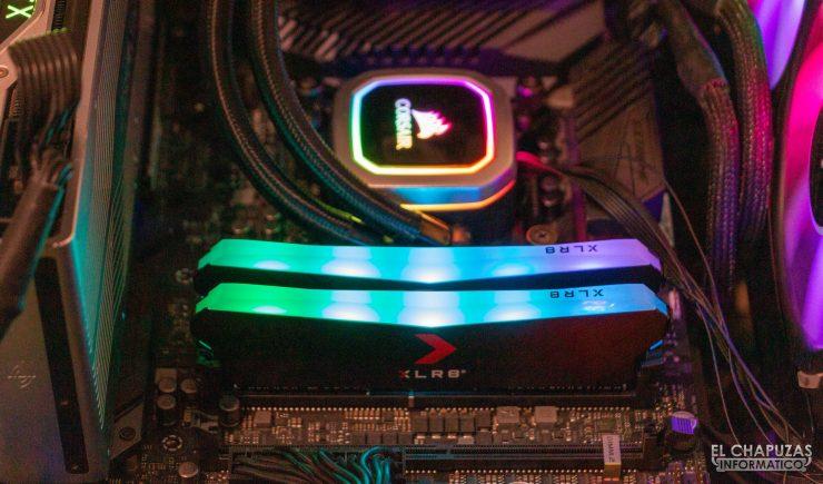 PNY XLR8 RGB - Encendidas