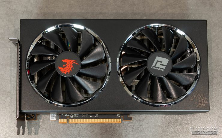 Powercolor Red Dragon Radeon RX 5600 XT - Vista superior