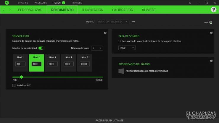 Razer Basilisk Ultimate - Software 2