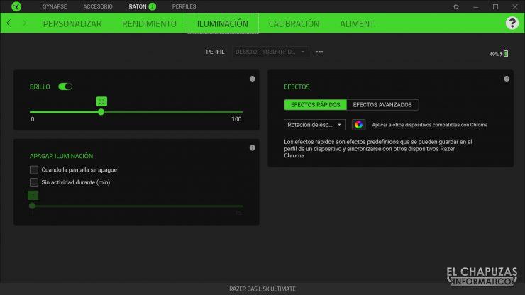 Razer Basilisk Ultimate - Software 3