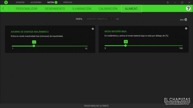 Razer Basilisk Ultimate - Software 5