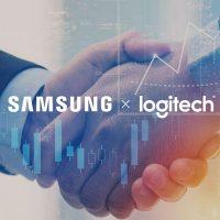 Samsung y Logitech anuncian una asociación estratégica para soluciones de videoconferencia