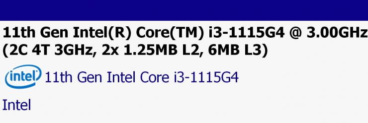 especificaciones Intel Core i3 1115G4 740x248 0