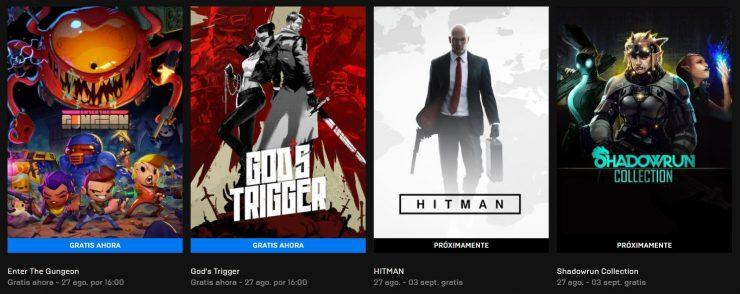 Juegos gratis en la Epic Games Store
